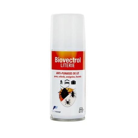 Biovectrol  spray anti-punaises de lit 100 ml