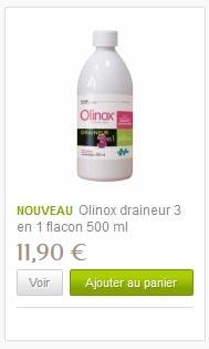 Acheter Olinox drainant pour la minceur