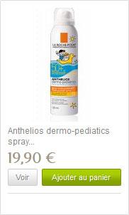 Anthelios crème solaire