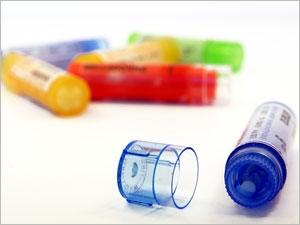 Tubes de globules homéopathiques