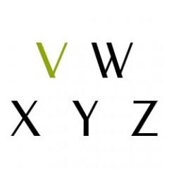 V-W-X-Y-Z